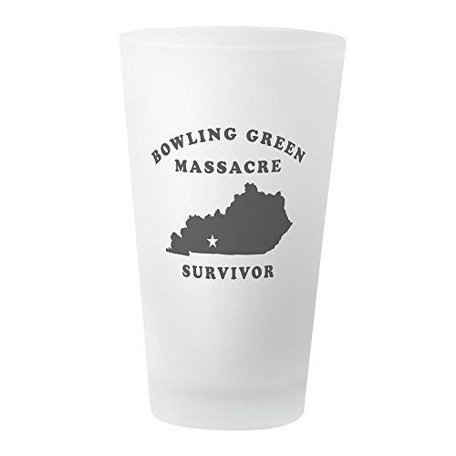CafePress Bowling Green Massacre Survivor Pint-Glas frosted - Klassischen Bowling-shirt