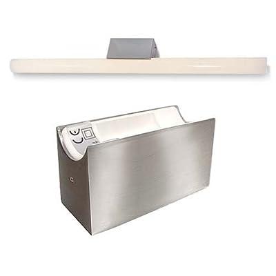 ALUTEC Spiegelleuchte Linestra Linienlampe 1x 35/60W edelstahl gebürstet von CARDANLIGHT EUROPE - Lampenhans.de