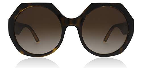 Dolce & Gabbana 0DG6120 Damen, Sonnenbrillen, Braun (Havanna), 54mm