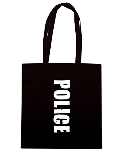 T-Shirtshock - Borsa Shopping TM0544 police Nero