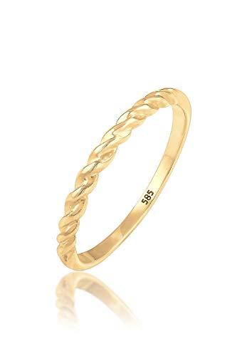 Elli Premium Damen-Stapelring 14_k_(585) 0609280417_52