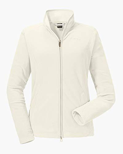 Schöffel Fleece Jacket Leona2 Damen Jacke, Weiß (Whisper white), 38
