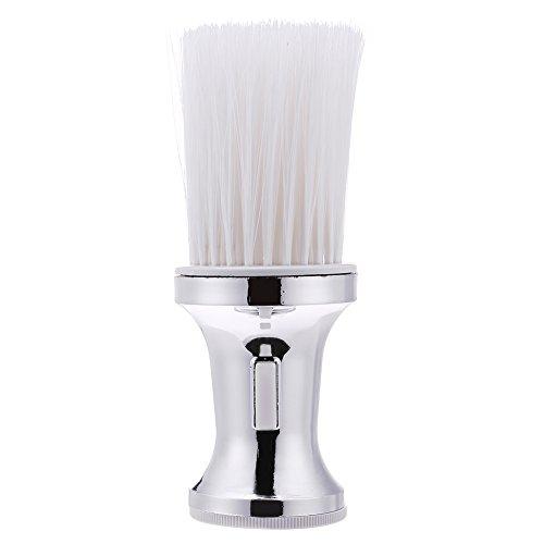 Domybest Cepillo Plumero Peluqueria, Cepillo de Cuello Barbero, para Eliminar los Residuos del Cabello (type C)