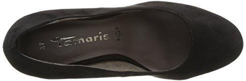 Tamaris - 22434, scarpe con tacco  da donna Nero(Schwarz (BLACK SUEDE (004)))