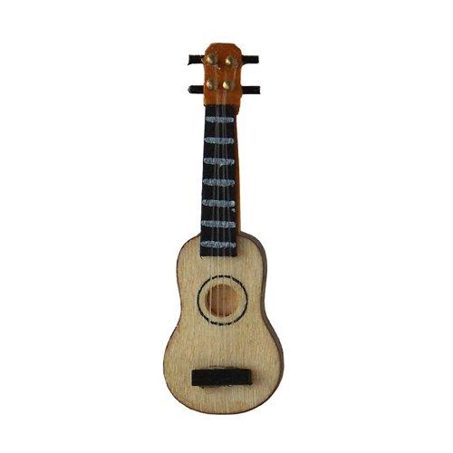 Mini Gitarre, ca. 7,5 cm [Spielzeug]