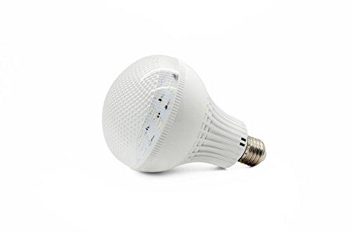 E27Edison Boden Verschraubung 5630Cluster LED Leuchtmittel DC 12V Ersatz für 90W Glühlampen Lights of Solar Off Grid, Boot, Yacht, Wohnmobil- und andere Low Volt Beleuchtung PAR36PAR38, warm weiß, 12W - Dc Bajonett-halogen-glühlampe