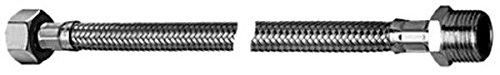 Flexibler Schlauch Fix 1/2 Zoll ÜM x 1/2 Zoll, 300 mm, chrom, 090570699