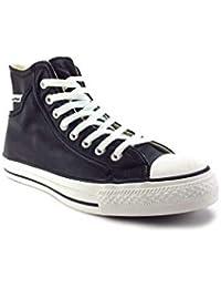 1717ad7cac639 Amazon.fr   converse cuir noir   Chaussures et Sacs
