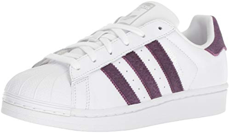 Adidas Originals Originals Originals Superstarfashion scarpe da ginnastica, Bianco (bianca rosso Night argento Metallic), 37,5 EU | comfort  | Sig/Sig Ra Scarpa  b94159