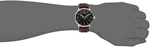 Akribos XXIV Men's Analog Display Japanese Quartz Brown Watch