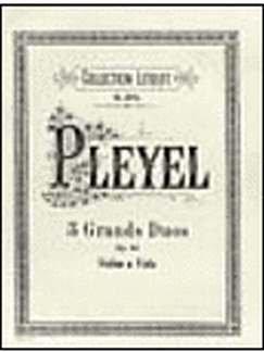 3 Grands Duos Op 69. Violine, Viola
