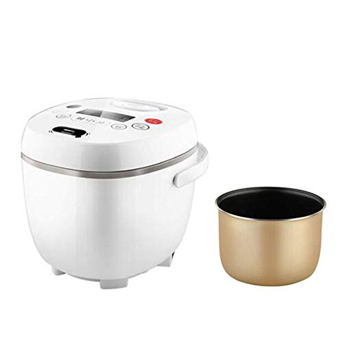 YANWE Rice Cooker, Smart 1-3 People Can Make An Appointment, Regular Small Steamed Rice Pot, 2L/400W