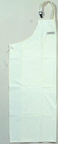 Gummischürze aus PVC weiß, ca 120 x 90 cm