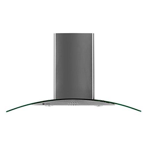 Klarstein GL90WS • Campana extractora de pared • Capacidad de extracción de...