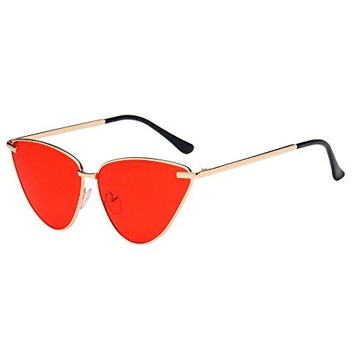Amfirst Damenmode Vintage Cateye Frame Shades Acetate Frame Uv-Brillen Sonnenbrillen Metallrahmen Verspiegelt Linse Sonnenbrille Polarisierte Sonnenbrille Treiber Glasses Ultra Leicht