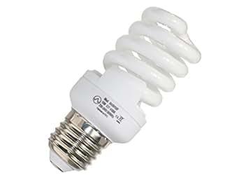 Avalva 0435/15/F Ampoule Basse Consommation Verre 15 W E27 Blanc