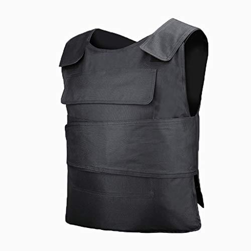 Sicherheit Taktische Weste Stabbeständige Kleidung, Anti Schneiden Selbstverteidigung Anzug Unsichtbare ultradünne taktische Weste Schutzausrüstung für Bodyguard Security Family Notfall Selbstverteidi