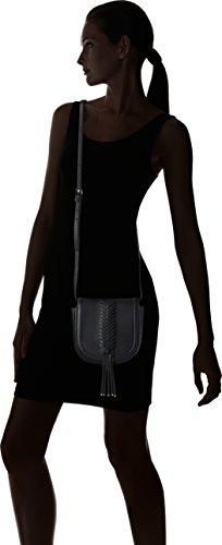 Cavalli Damen Gipsy Diva Schultertasche, 7 x 16 x 17 cm Schwarz (Black)