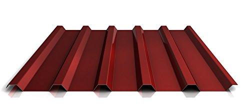 Trapezblech | Profilblech | Dachblech | Profil PS35/1035TR | Material Stahl | Stärke 0,40 mm | Beschichtung 25 µm | Farbe Rot