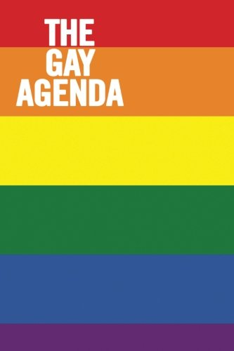 The Gay Agenda: College Ruled 6 x 9 LGBT Notebook, Funny Journal, 100 pages