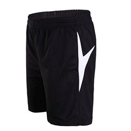 Men's High Quality Soccer Running Shorts white