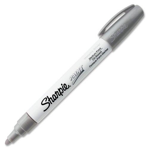 sanford-ink-corporation-sanford-sharpie-ink-corporation-paint-marker-oil-base-medium-point-silber