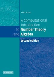 A computational introduction to number theory and algebra (world trade organization)
