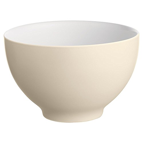Alessi Dc03/3 Py Tonale Grand Bol en Céramique Stoneware, Pale Yellow