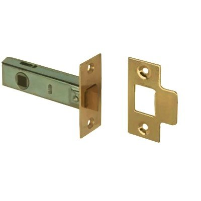 Supreme Tubular Latch 63 mm, Elektrolytisch Vermessingt (Latch-hook Alle)