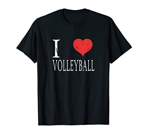 I Love Volleyball TShirt Beachen Shirt Beach Geschenk Spiel