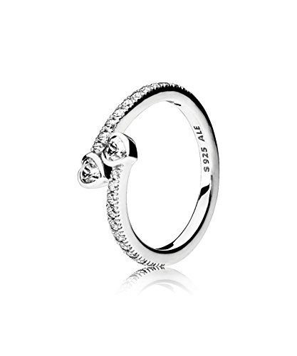 PANDORA - Anillo de plata de la elegancia brillante 925/1000 PANDORA 190986CZ - 54