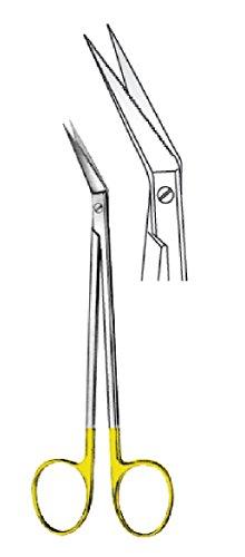 comdent 35–3084LOCKLIN Schere, gerade, 16cm, TC, Sah Edge