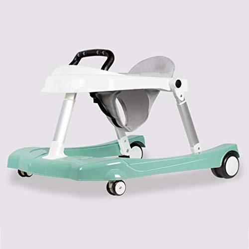 LFY Andador Andadores para bebés, antivuelco Plegable, Ayuda para bebés Que aprenden a Caminar 6-18 Meses Walker Trolley