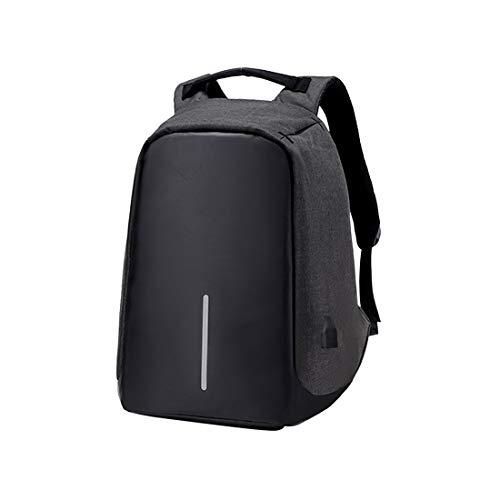 Zhhlaixing Casual Anti Diebstahl Laptop Rucksack - Reisetasche mit USB Ladeanschluss Universität Daypack für 15 Zoll Computer Backpack Herren Damen