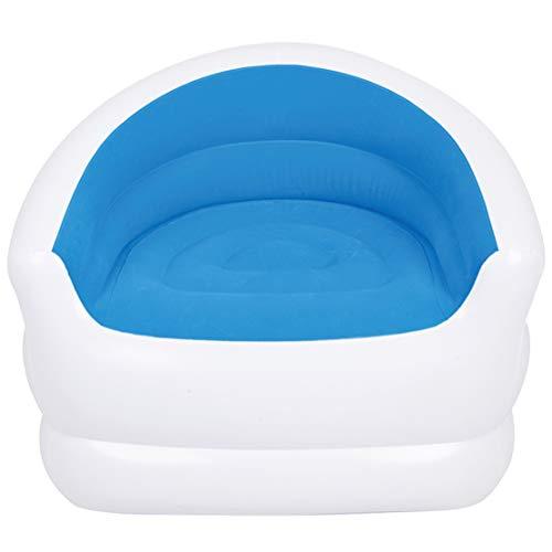 Sillón Hinchable Silla Individual Asiento Hinchable Interior Exterior Relax Comfort (94X83X76CM),Blue