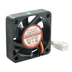Case Fan, 40x40x10mm, Ball Bearing, 3-pin