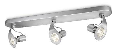 Philips MyLiving 3 Bar Spotlight Ceiling Light in Aluminium - Reviews