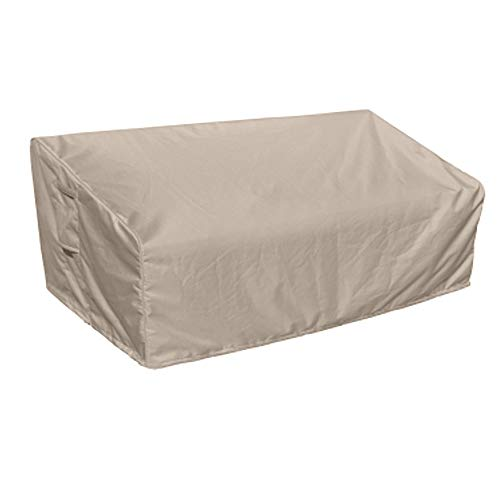 Raffles Covers NW-RLB230shaped Wetterschutz für Terrasse Sofa 230 x 100 H: 85/65 cm Loungesofa Abdeckung, Schutzhülle für Gartensofa, Wetterschutz für Rattan Garten Lounge