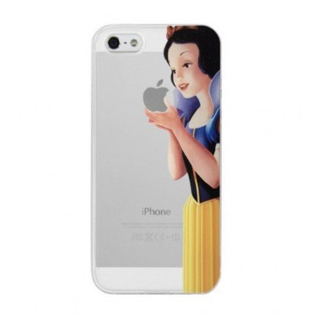 coque-etui-housse-pour-iphone-5-5s-blanche-neige-manger-pomme-screen-film