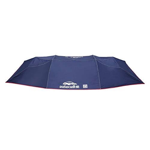 Auto-tenda-copertura-auto-tetto-tenda-Awning-Half-automatico-impermeabile-piegato-auto-portatile-baldacchino-copertura-per-sole-UV-polvere-anti-pioggia-blu