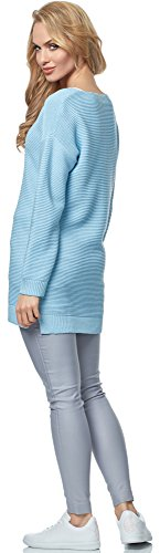 Merry Style Damen Pullover MSSE0030 Hellblau