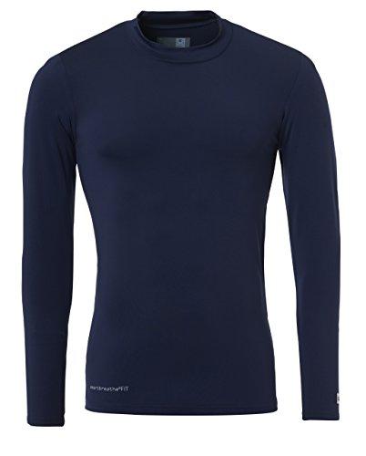 Uhlsport Distinzione Maglia Di Corpo Uomo, Blu Marino, XS (164 cm)
