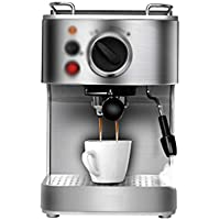 LJHA kafeiji Máquina de café semiautomática, máquina de café Inteligente Italiana, máquina de café