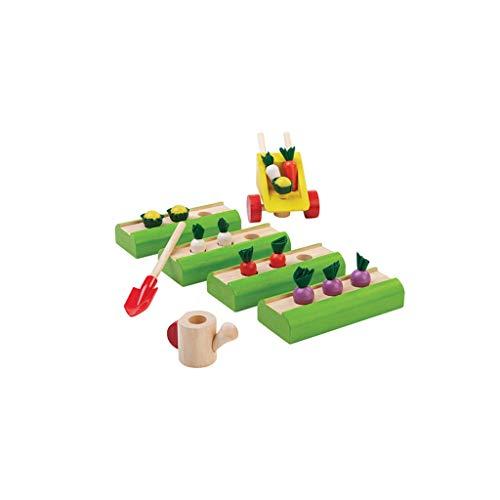 LXRZLS Hölzerne Kinderspielhaus Lernspielzeug-Holzspiel-Spielset-Pretend Play Kitchen