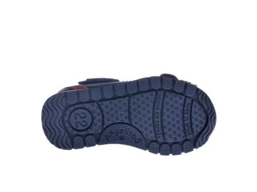 ANGELITOS , Jungen Sport- & Outdoor Sandalen beige beige 20 Marineblau