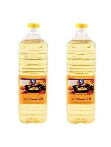 Pamai Pai® Doppelpack: 2 x 1 Liter reines Erdnussöl Erdnußöl Peanut Oil Erdnuss Öl Holland
