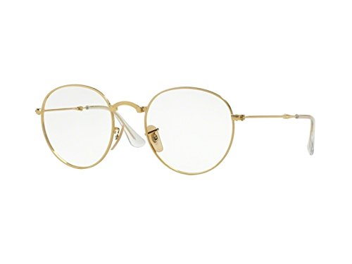 ray-ban-optical-fur-mann-rx3532v-gold-metallgestell-brillen-47mm