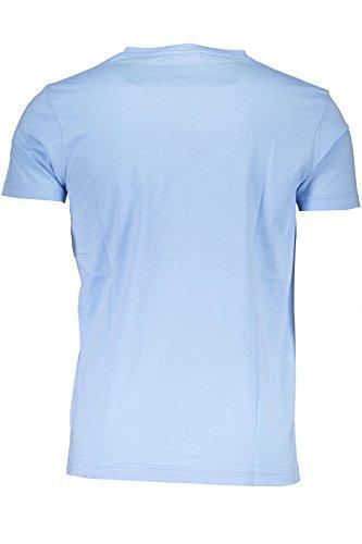 GANT Herren The Original Fitted V-Neck T-Shirt AZZURRO 468
