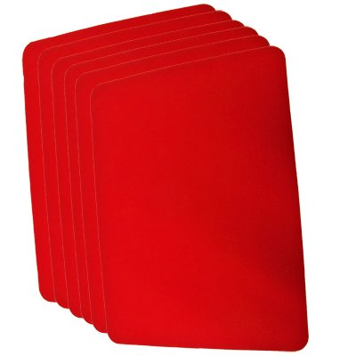 Small Close Up Pad 6 Pack (Red 8.5\\