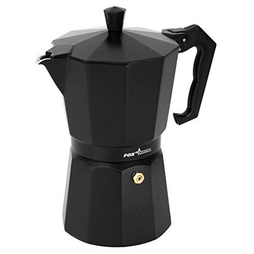 Fox Cookware Coffee Maker - Kaffeekocher für Angler, Campingkocher für Kaffee, Kaffeemaschine zum Angeln, Coffeemaker, Größe:300ml (Impressum-maker)